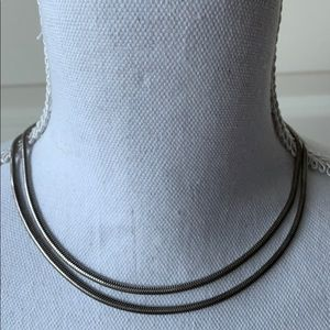 Jewelry - Mid 20th Century Silver Mesh Necklace
